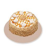500 Gm Buttescotch Cake