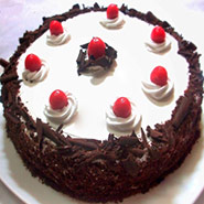 500 Gm Blackforest Cake
