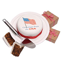 US Greeting Cake