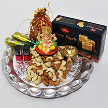 All Inclusive Silver Thali