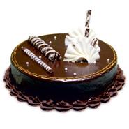 1kg Chocolate Truffle Cake Eggless