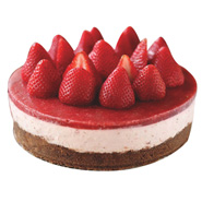 1kg Strawberry Moussecake Eggless