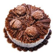 1kg Ferrero Rocher Cake Eggless