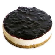 1kg Philadelphia Cheesecake Eggless Black