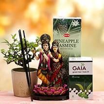 Divine Radha Krishna Hamper
