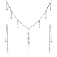 Oviya Dazzling Array Necklace Set