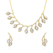 Oviya Royal Exotica Necklace Set