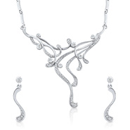 Oviya Go Glam Necklace Set