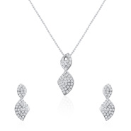 Oviya Brilliant Art Pendant Set