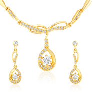 Oviya Luxurious Brilliance Necklace Set