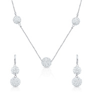 Oviya Scintillating Glamor Necklace Set