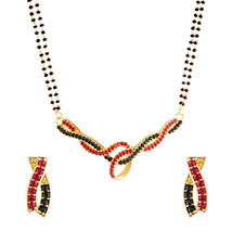 Red and Black Crystals for Women