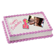2kg Photo Cake Chocolate Sponge Eggless