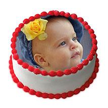 1kg Vanilla Photo Cake