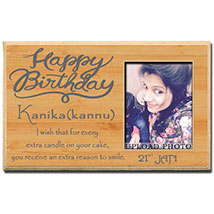 Birthday Photo Plaque