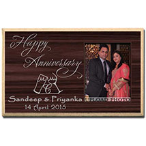 Photo Plaque For Anniversary