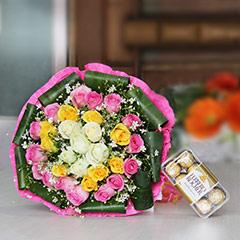 Joyous Floral Combo