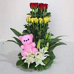An Adorable Floral Gift