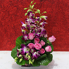 An Exotic Floral Arrangement