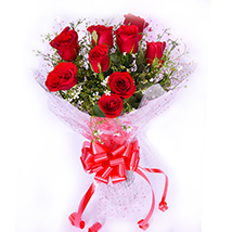 Charming Red Roses