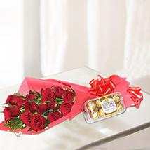 Rosy Chocolaty Gift