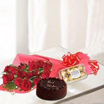 Rosy & Chocolaty Gift Combo