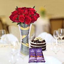 Rosy & Chocolaty Combo