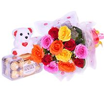 Vivid roses
