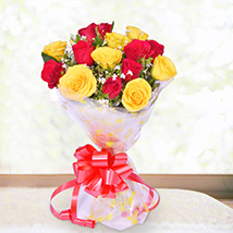 Red & Yellow Roses