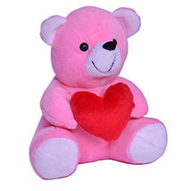 Pink Heart Teddy