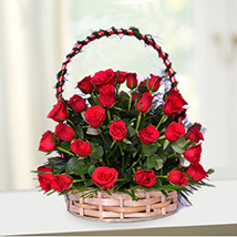 Amazing Red Basket