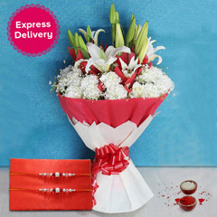 Mixed Flowers n Rakhi /></a></div><div class=
