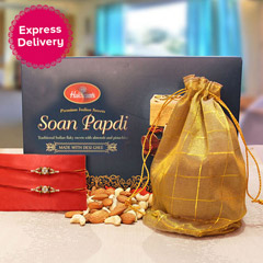 Foodies Rakhi Hamper
