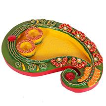 Kairi based pooja plate