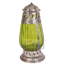 Oxidised traditional decorated lantern