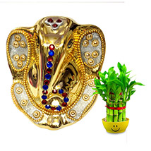 Golden Ganesha Idol