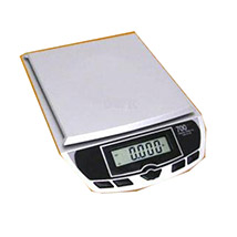My Weigh White Glass Digital Electronic Balance Weight Scale