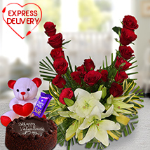 Express It with Flower Hamper