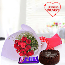 Romantic & Chocolaty Surprise