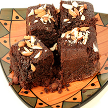 Chocolate Almond Brownies