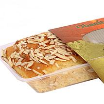 Badam Mawa Cake