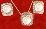 Pearl SN6015 Pendant Set