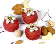 Sugar Free Rose kaju Bon Bons (250 gms)