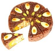 Ghasitarams Chocolate Dryfruit Mithai Cake