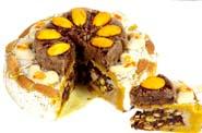 Ghasitarams Kesar Dryfruit Mithai Cake