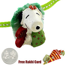Snoopy Rakhi with a Free Silver Coin /></a></div><div class=