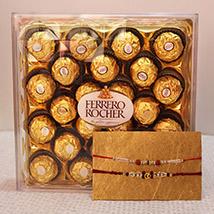Golden Chocolaty Surprise
