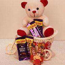 Chocolate & Teddy on Ferry