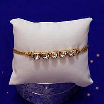 Stone-Studded Bracelet Rakhi /></a></div><div class=