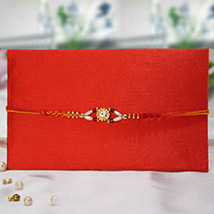 Simple Pearl Rakhi
